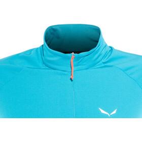 SALEWA Puez PL Langærmet T-shirt Damer, hawaiian blue